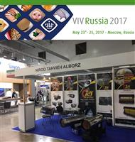 The presence of Niroo Tahvieh Alborz Co in the specialized exhibition of international exhibition of  VIV RUSSIA (2017)