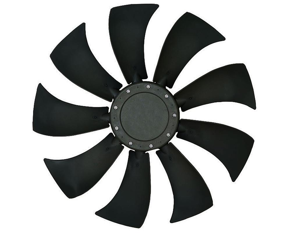 9 blade axial fan